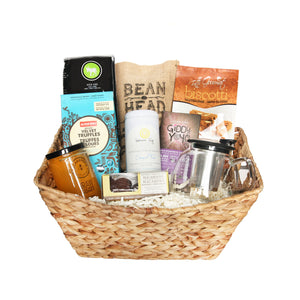 Coffee, Tea & Sweets Gift Basket | Jule's Baskets