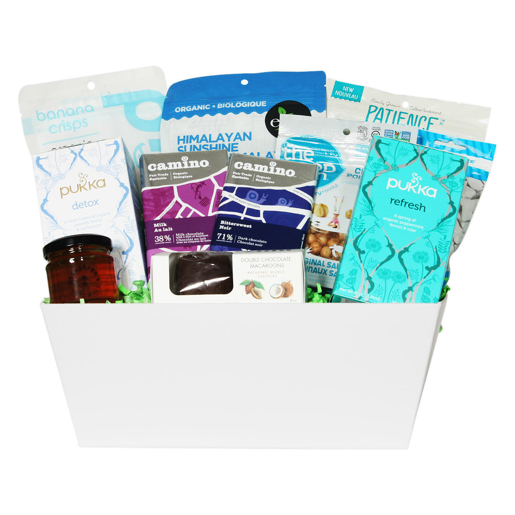 Tea Time Snacks Gift Basket