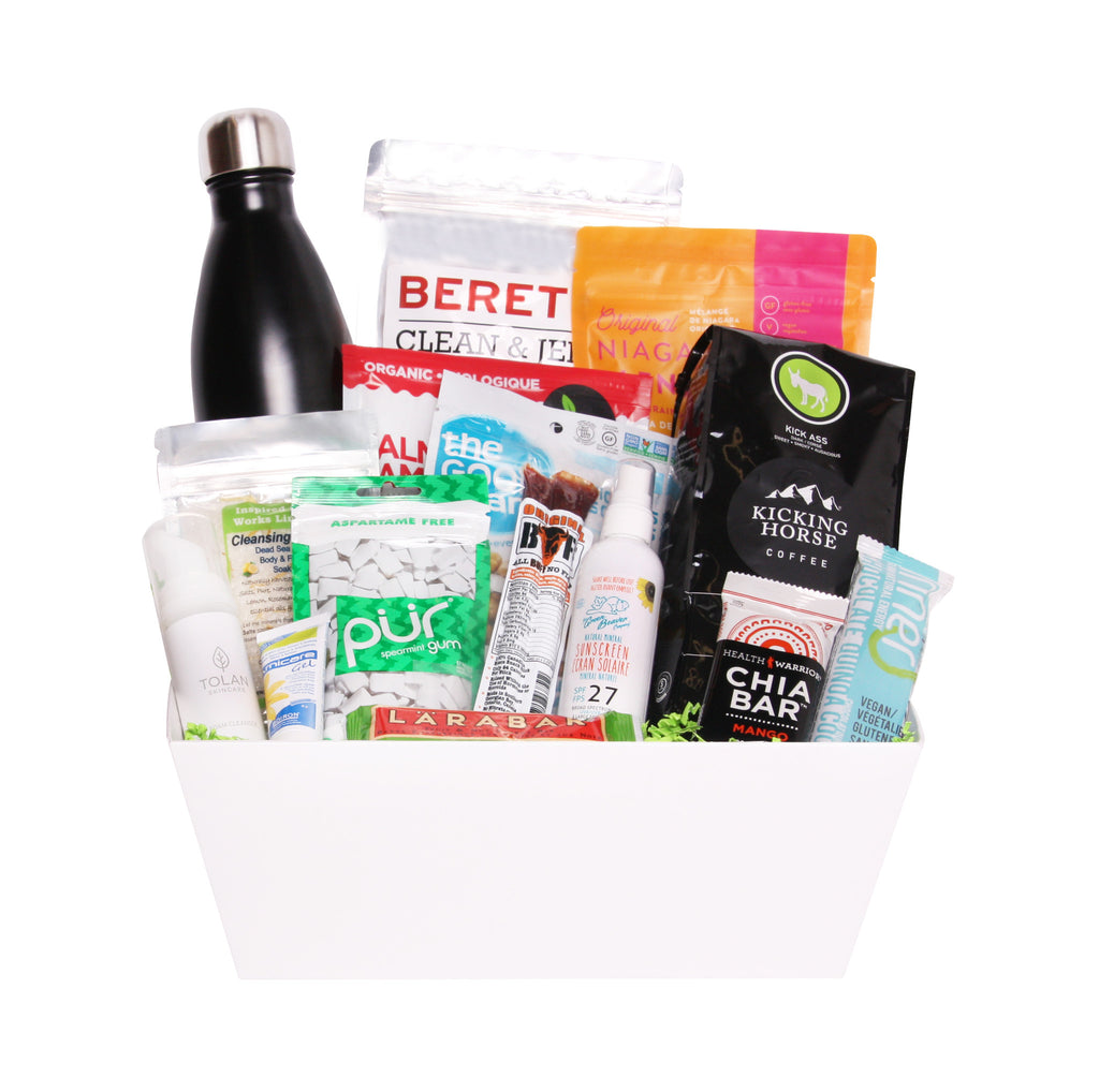 Energizing Lifestyle Gift Basket - Gift Baskets for Him
