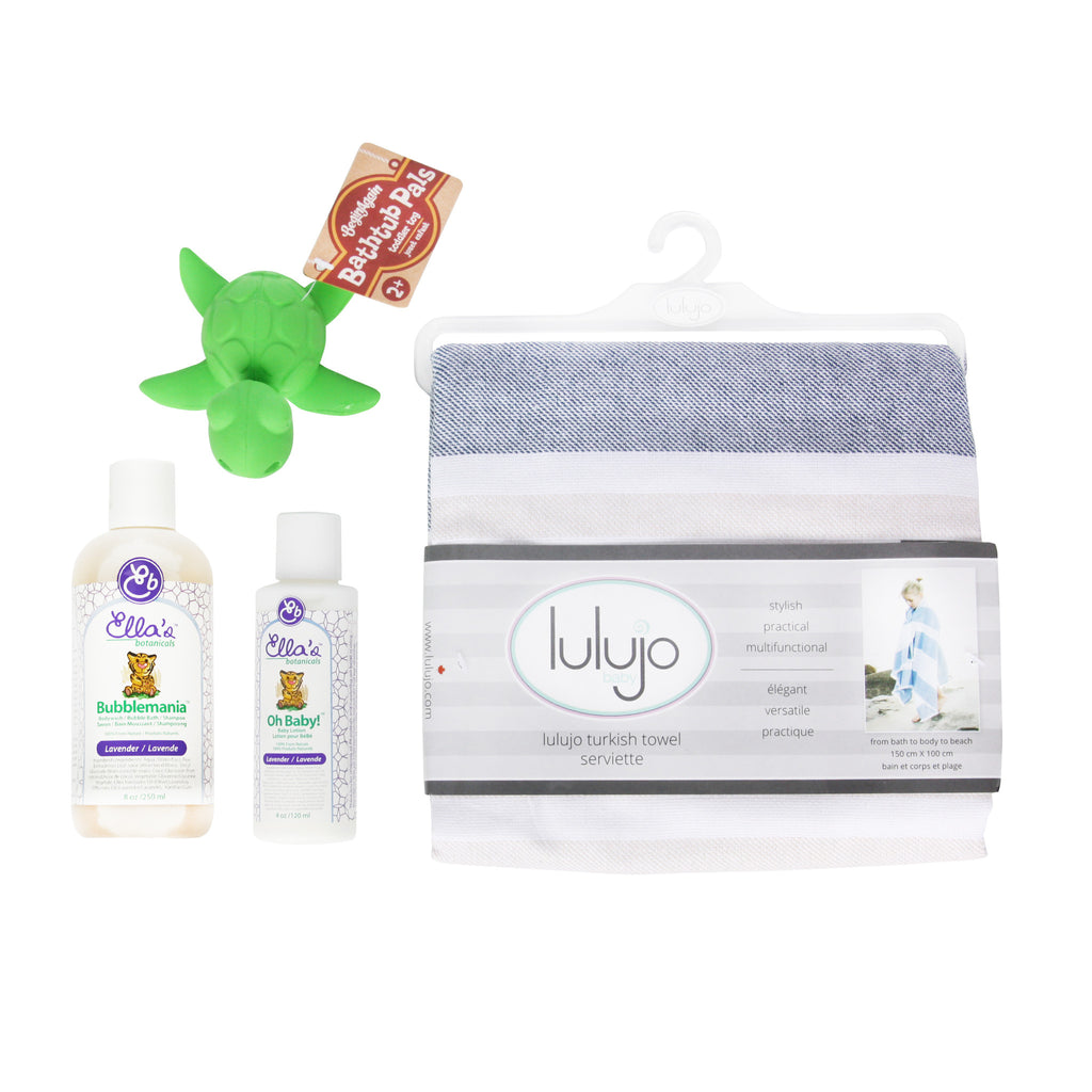 Bath Time for New Baby Gift Box