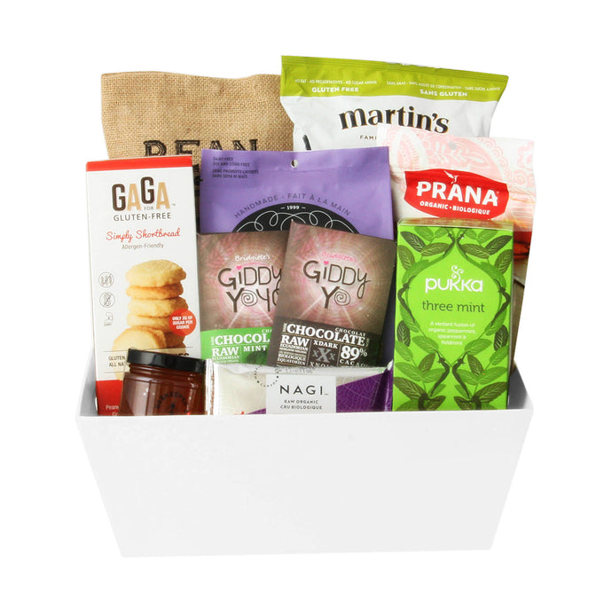 Sarah Goldstein Nutritionist Holiday Thank You Gift Basket Toronto