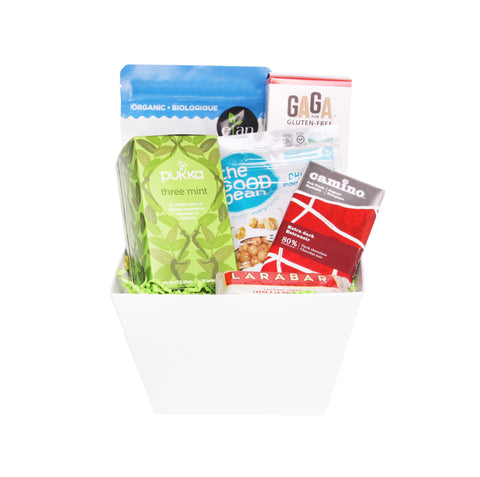 Gluten free vegan gift baskets toronto canada jules baskets mindful snacking gluten free negle Choice Image