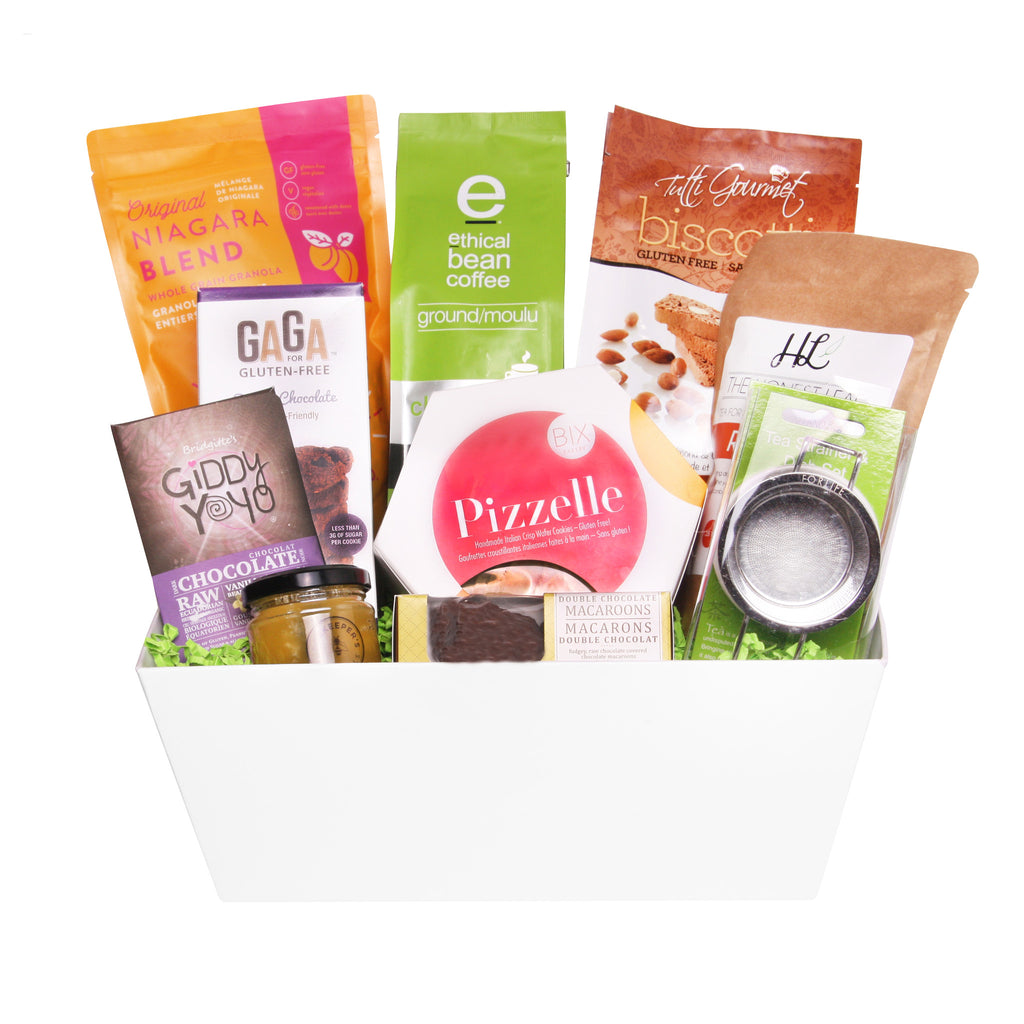 Scrumptious Morning Break Gift Basket