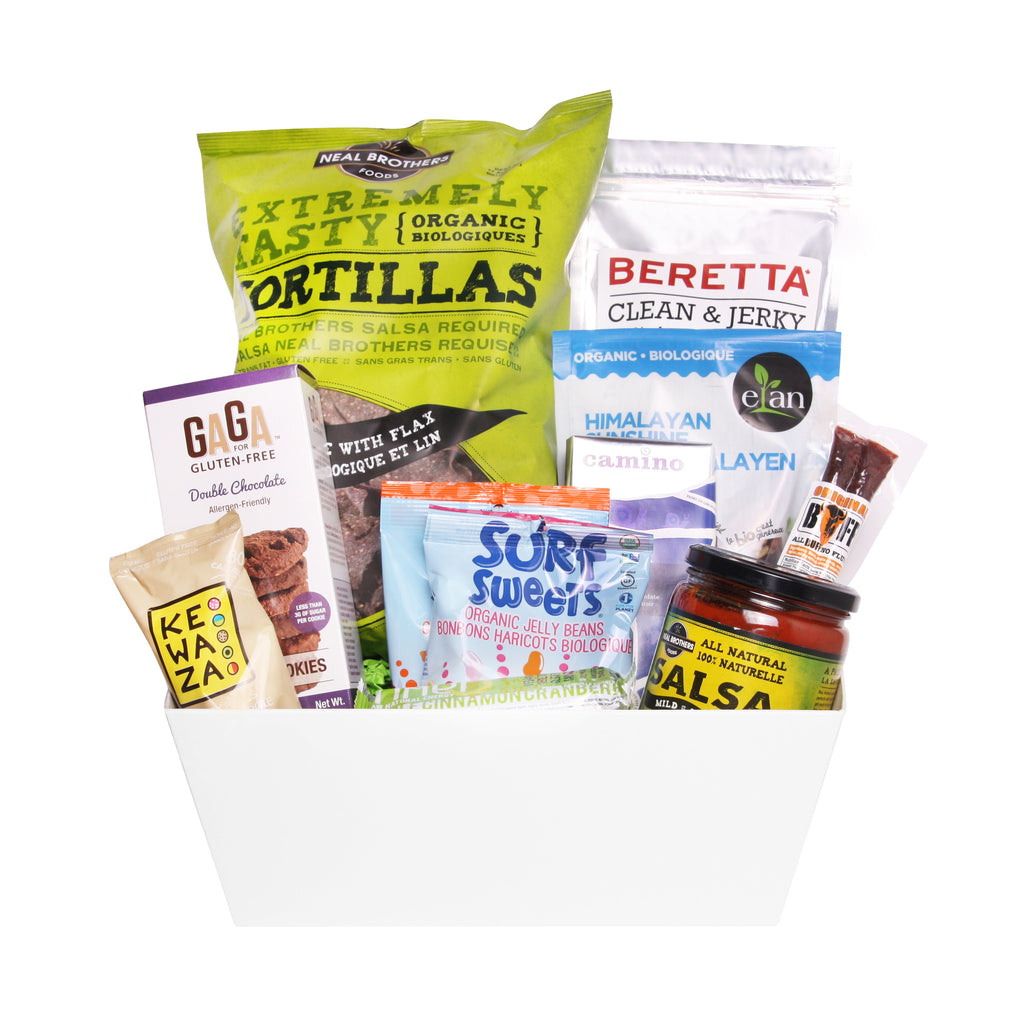 Modern Snacking Gift Baskets