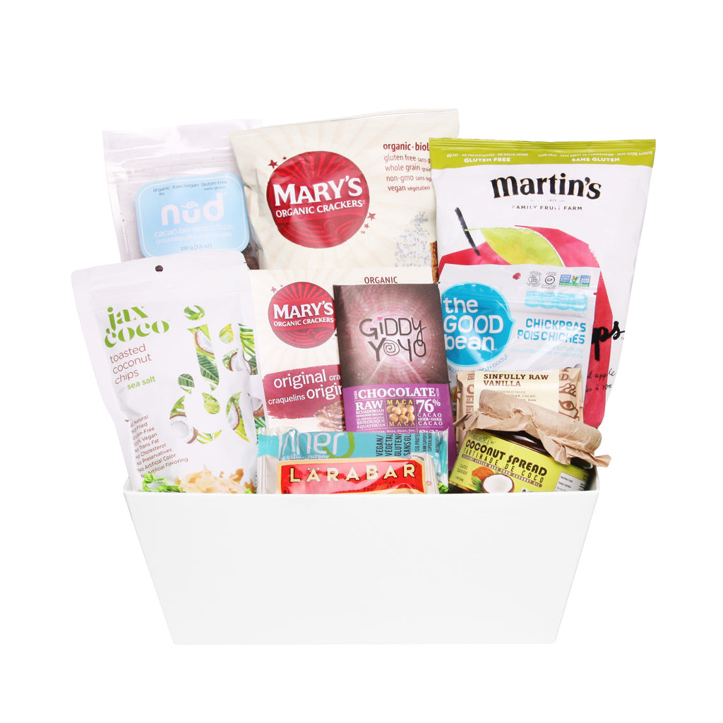 Vegan Snacks Gift Basket