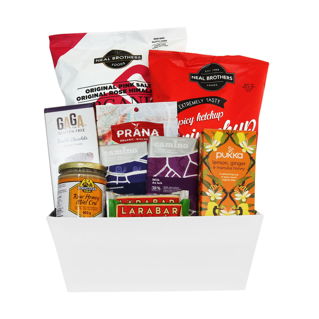 Sharing gift baskets gluten free sweet and salty jules baskets gluten free office sharing gift baskets negle Choice Image