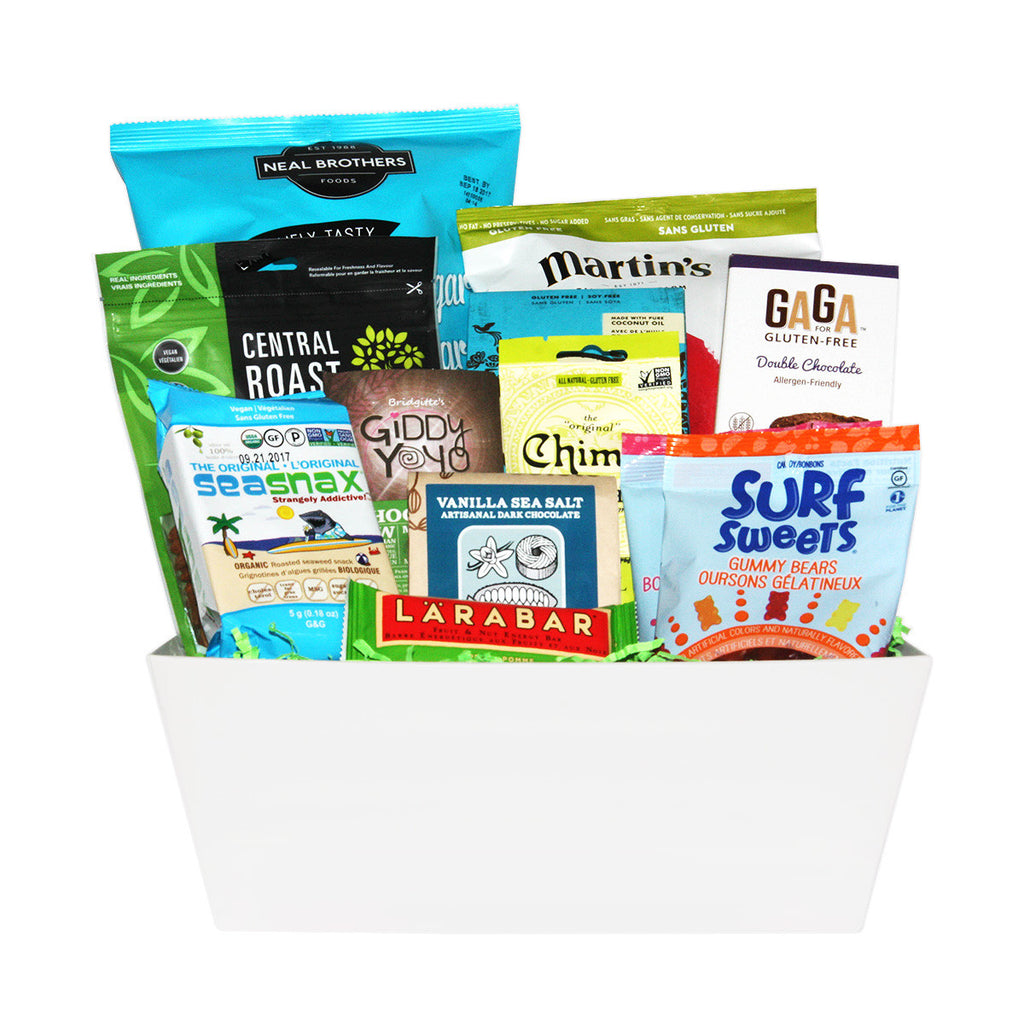 Sweet and Salty Snacking Gift Baskets in Canada & USA