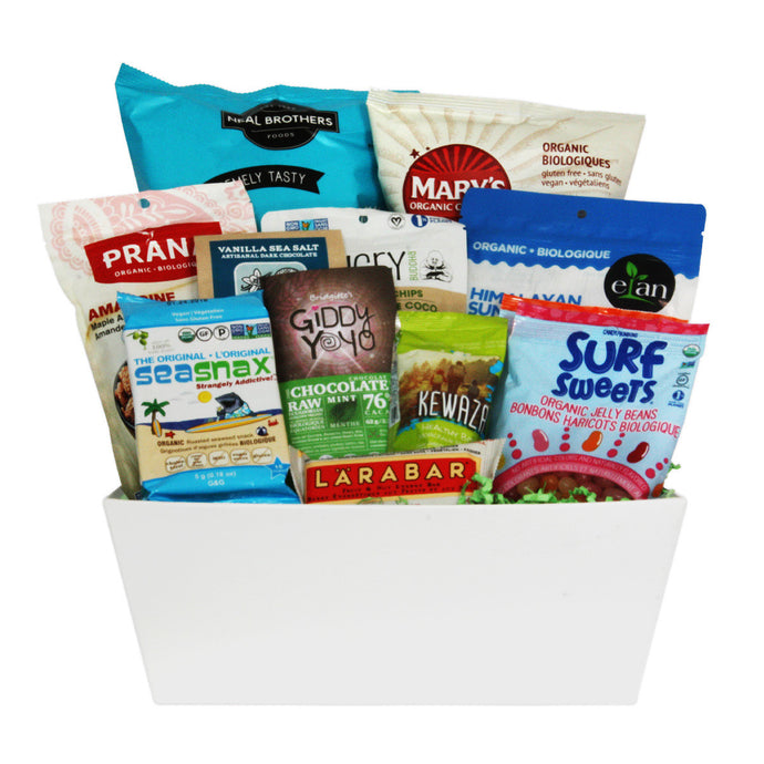 Healthy Snacks Gift Baskets in Canada