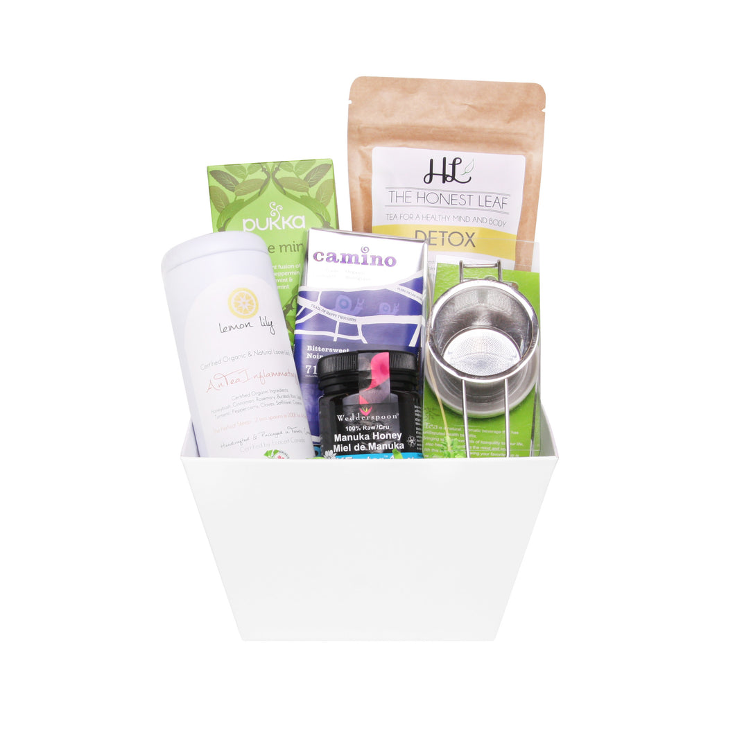 Replenish Tea Gift Basket
