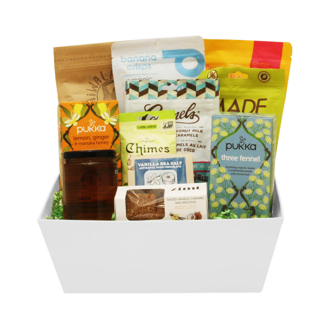 All-Natural Tea Time Gift Baskets Delivery