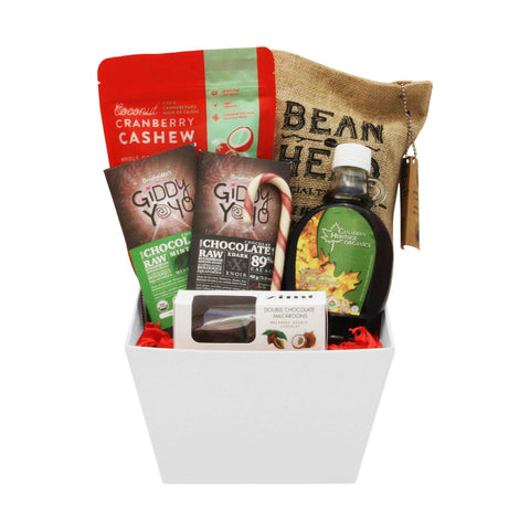Gluten free vegan gift baskets toronto canada jules baskets simple vegan holiday break negle Choice Image