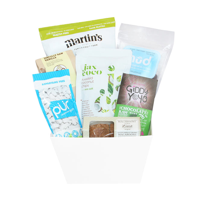 Vegan Snacks Gift Baskets
