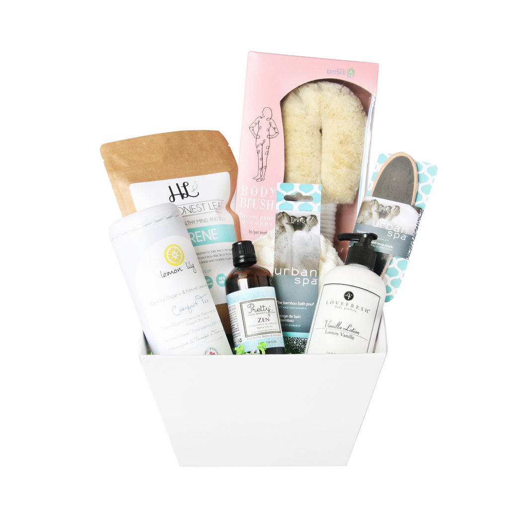 Modern Spa Gift Baskets - Serenity