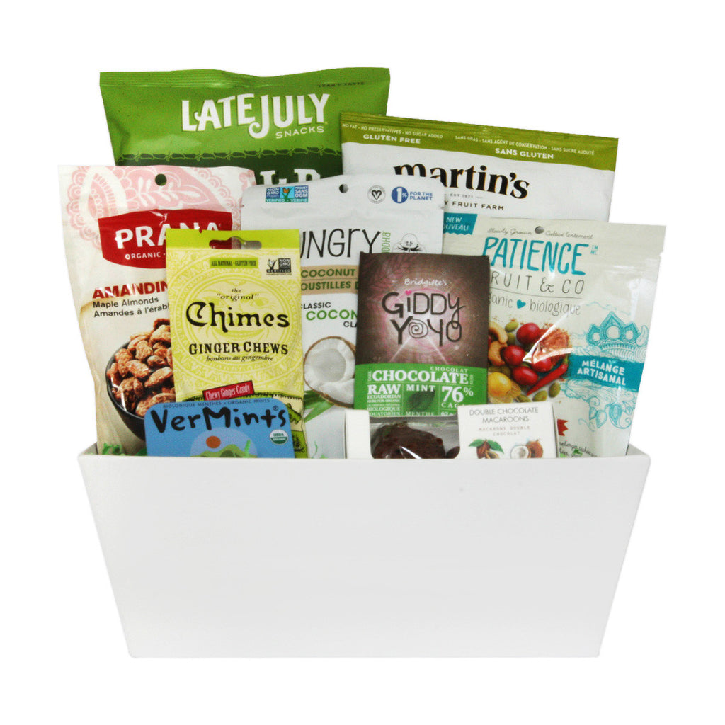 Healthy Snacks Gift Baskets in Toronto