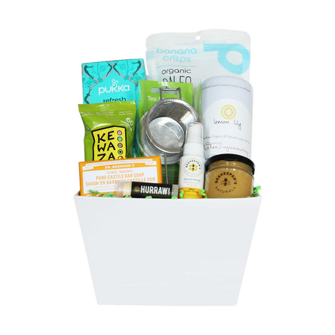 Healthy get well soon gifts gift baskets jules baskets naturally soothing solutioingenieria Gallery