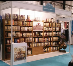 NoBooksOnTour at the Ideal Home Show
