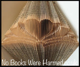 logo of no books were harmed folded into a book
