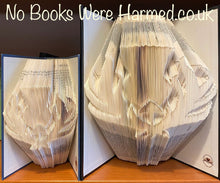 "Load image into Gallery viewer, ""Superior Scottish Thistle"" : : Hand folded book art : : Encyclopedia Britannica : : The Bibliophile Collection"