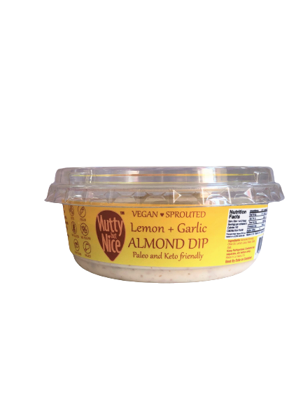 Lemon and Garlic Almond Dip