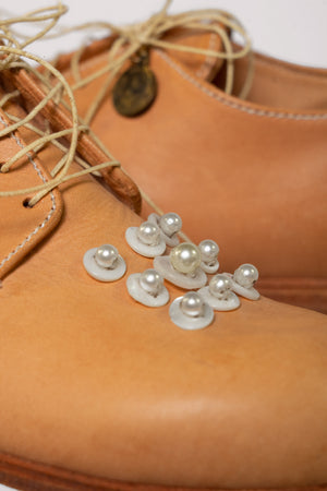 Baby Button and Pearl Shoes