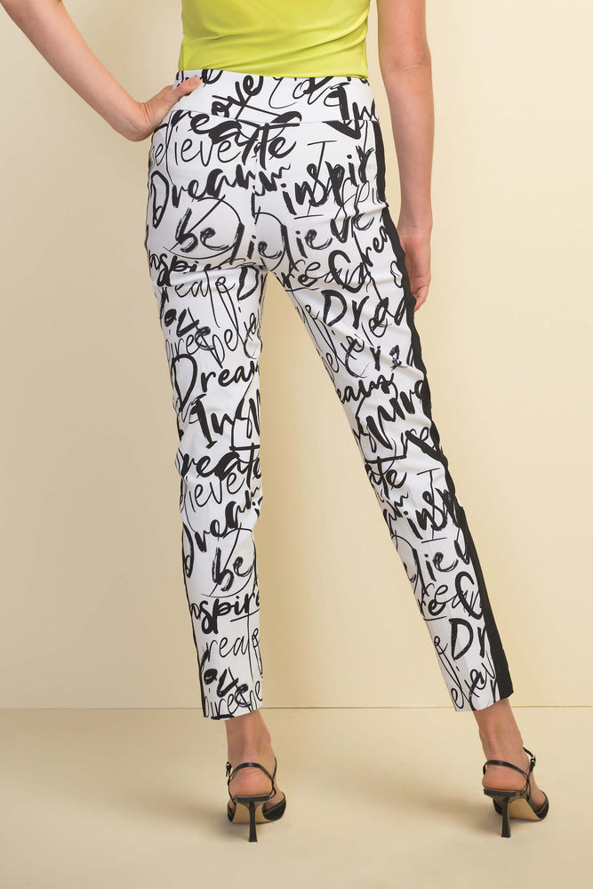 Graffiti Print Pants
