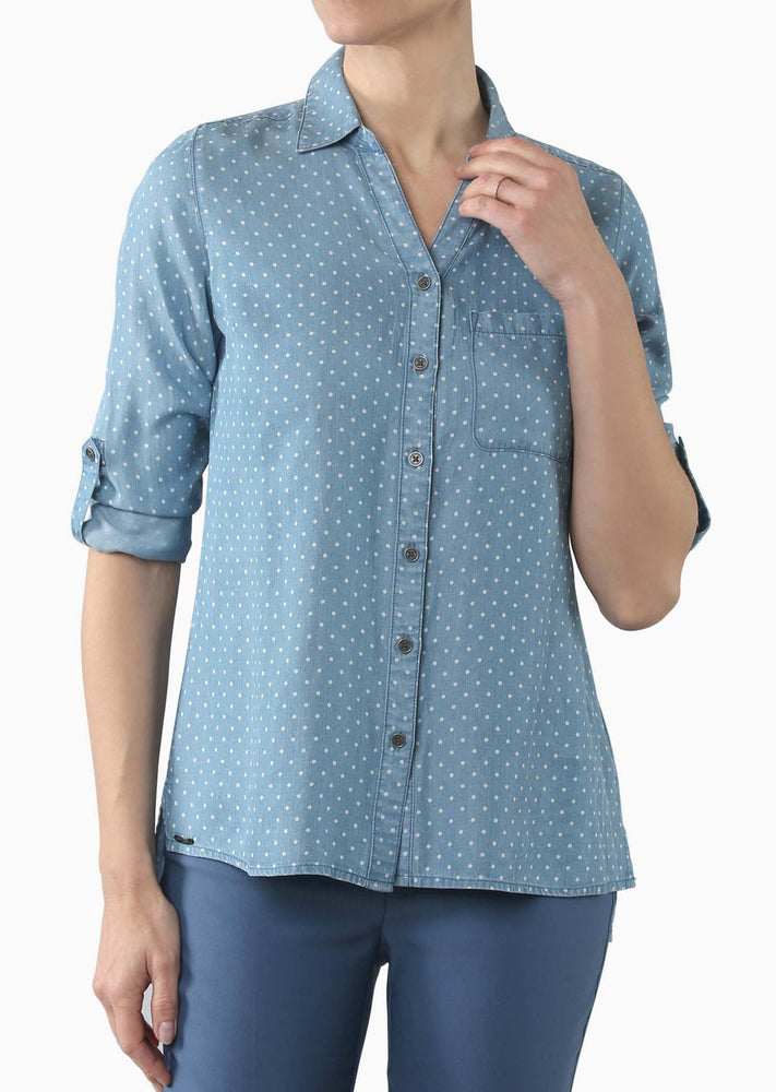 Anna Fully Buttoned Blouse