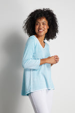 Sea Spray Cotton Pullover