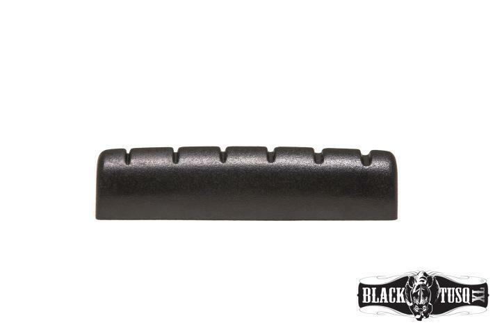 New Black Tusq XL (Trem Nut) Slotted for Pre 2014 Epiphone - 6060