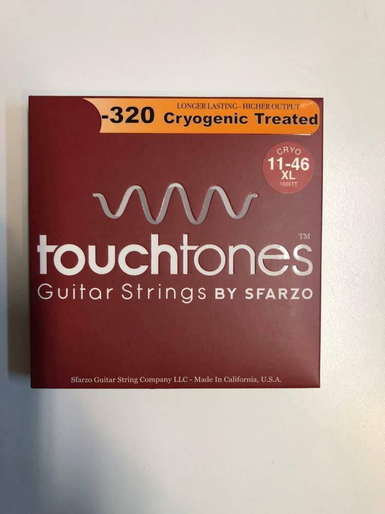 TouchTone Cryogenically Treated Acoustic Guitar Strings Extra Light 11-46