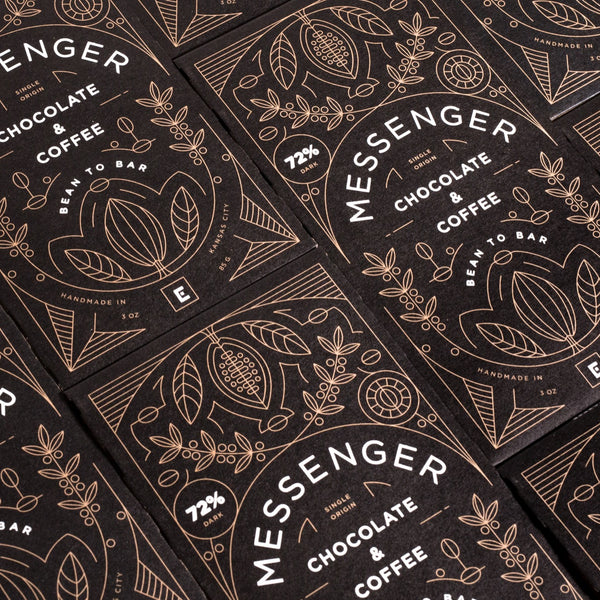Christopher Elbow + Messenger Coffee Collaboration Chocolate