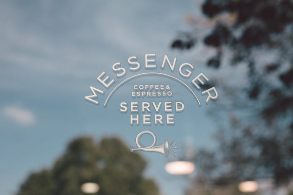 Messenger coffee served here