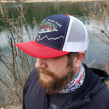 Load image into Gallery viewer, Spokane River - Redband Trout Hand Painted Hat