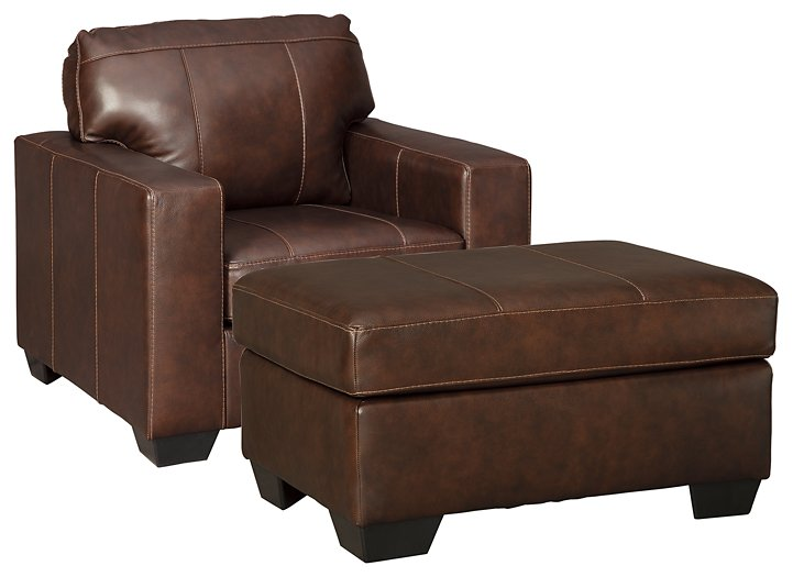 Morelos Signature Design 2-Piece Chair & Ottoman Set