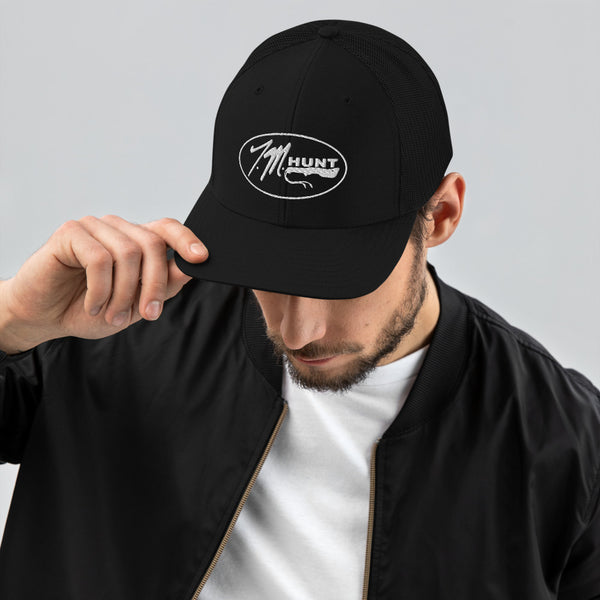 TM Hunt Embroidered Trucker Cap
