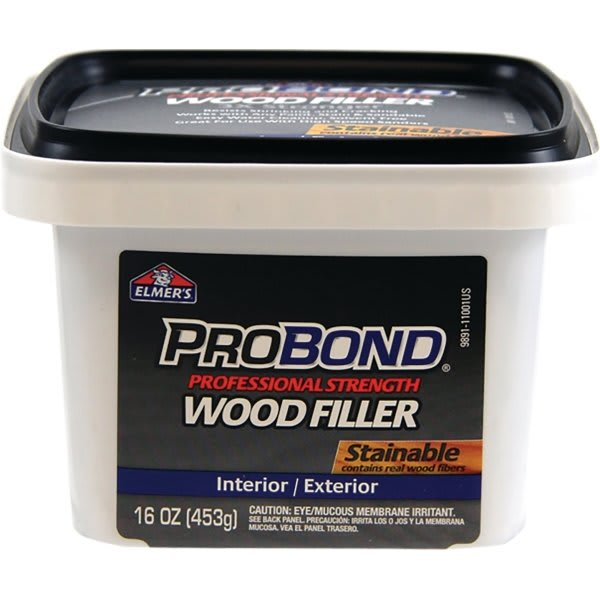 Elmer's Probond Stainable Wood Filler, 1 Pint