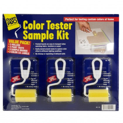 FoamPRO Color Tester Sample Kit