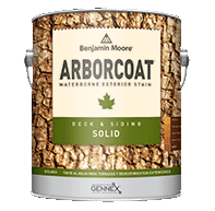 ARBORCOAT Waterborne Exterior Solid Deck and Siding Stain 640
