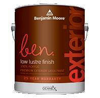 ben Waterborne Exterior Paint- Low Lustre 542