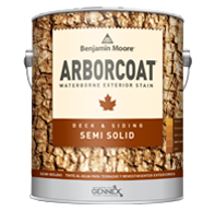 ARBORCOAT Waterborne Exterior Semi Solid Deck and Siding Stain 639