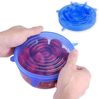 【50% OFF+FREE SHIPPING】Silicone Stretch Lids (6 PCS) - Estylish Shop
