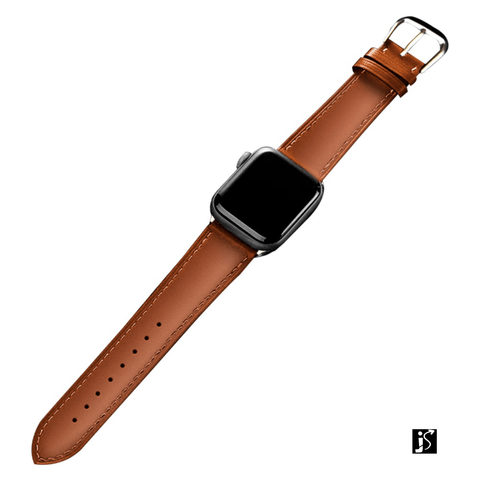 Pulseira Watch Band Loop em Couro Casual - JS