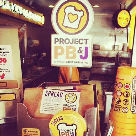 Which Wich PBJ display