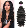Brazilian Virgin Hair 100% Human Hair Deep Curly (#1B Natural Black)
