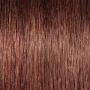 16 – 26 Inch Clip In Remy Hair Extensions Straight (#33 Dark Auburn)