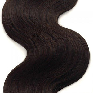 16 – 26 Inch Human Remy Hair Extensions Body Wave (#4 Medium Brown)