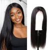 Pre-Plucked Lace Front Wig 13×6 Virgin Hair Straight #1B