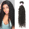 Malaysian Virgin Hair 100% Human Hair Curly (#1B Natural Black)