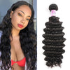 Peruvian Virgin Hair 100% Human Hair Deep Curly (#1B Natural Black)
