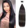Peruvian Virgin Hair 100% Human Hair Straight (#1B Natural Black)