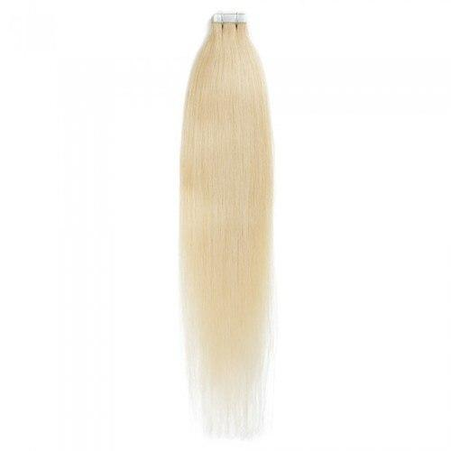 16 – 24 Inch Tape In Remy Hair Extensions Straight (#24 Sandy Blonde)